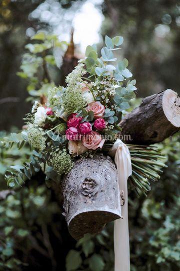 Bouquet nel bosco