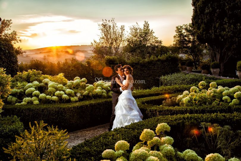 Real wedding Toscana