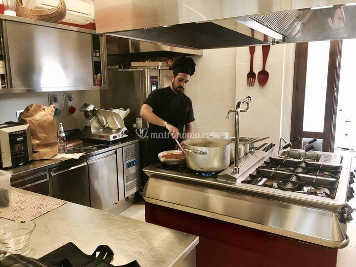 In cucina con lo chef!
