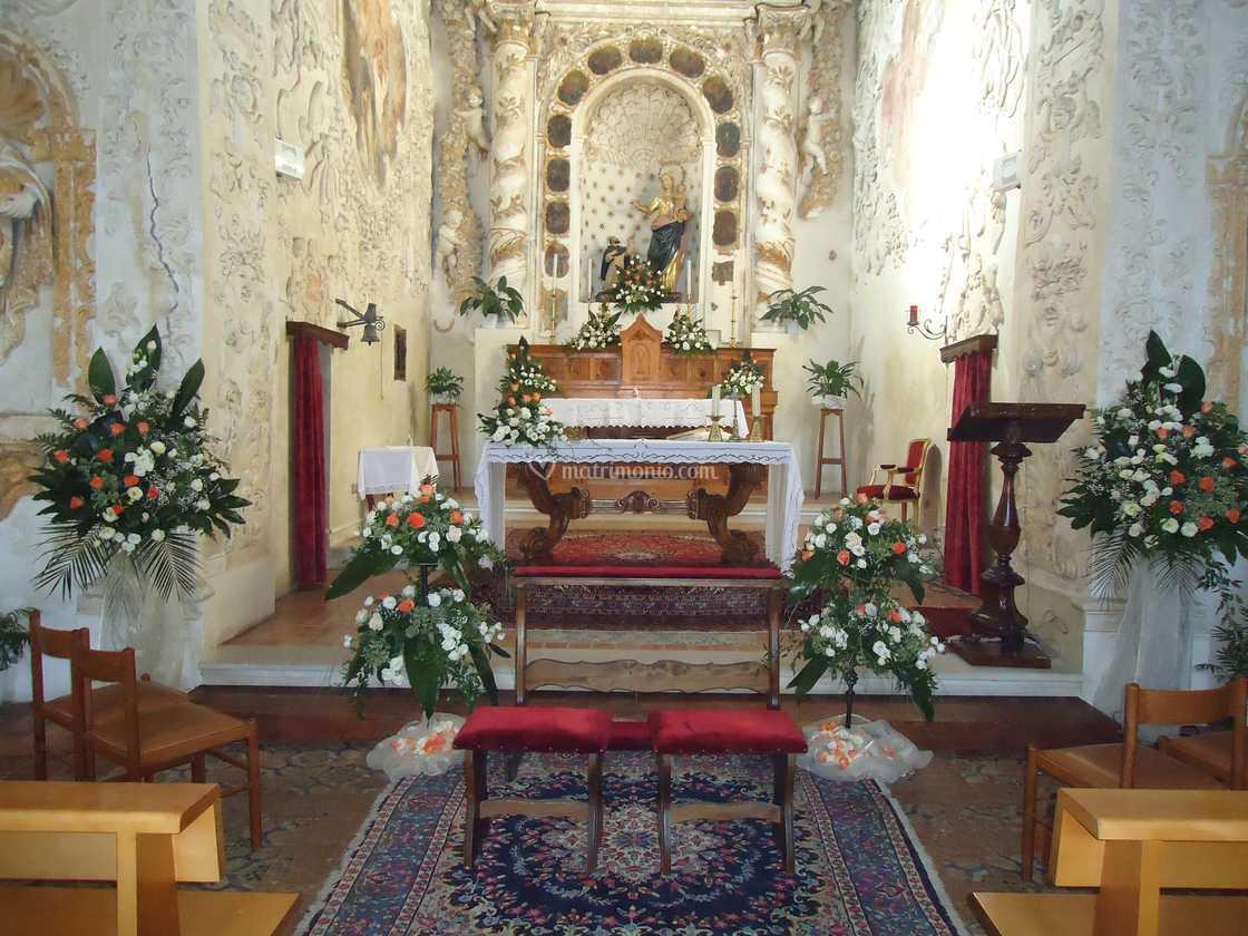 Composizioni floreali chiesa