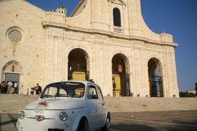 Matrimonio d'Epoca-In Fiat 500