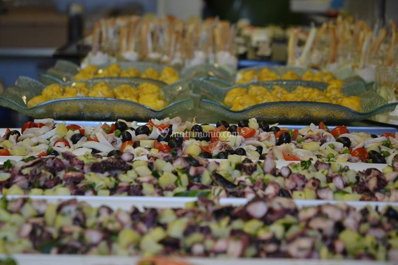 Buffet antipasto