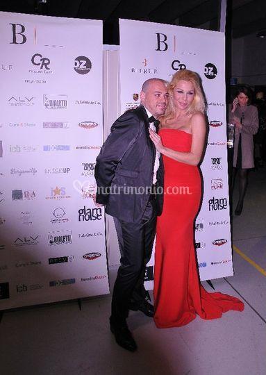 Con Giulia Montanarini