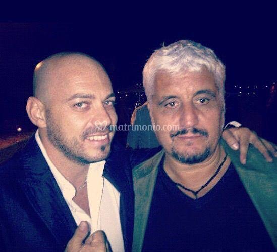 Con Pino Daniele