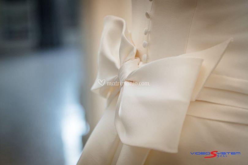 Particolare abito Modeca