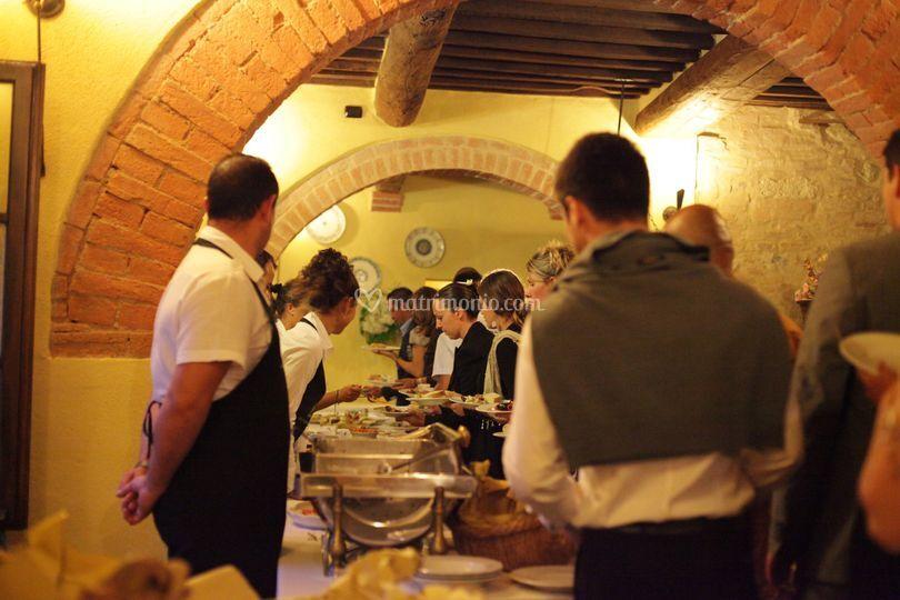 Buffet al ristorante