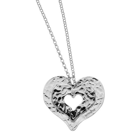 Collana in argento naturale
