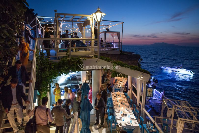 Ricevimento sul mare Capri