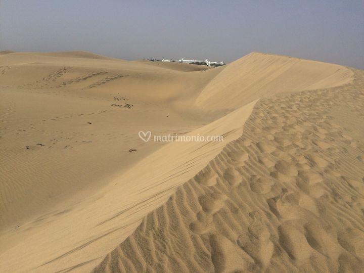 Gran Canarai Dune di Maspaloma