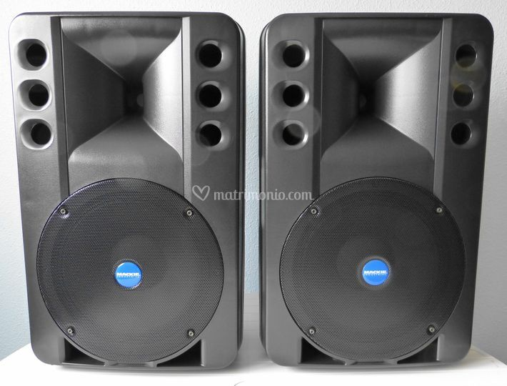 Impianto audio rcf art300a