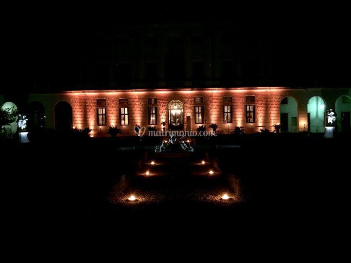 Illuminazione facciata