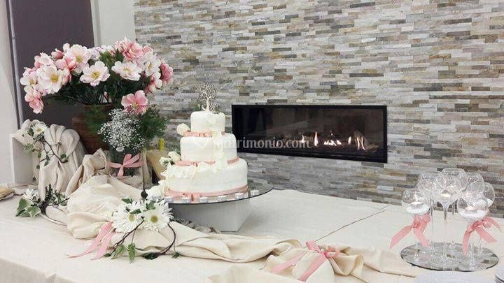 Scenografia wedding cake