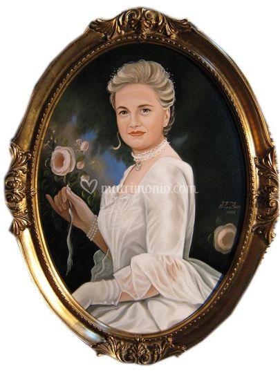 La sposa Arianna dalla Fontana