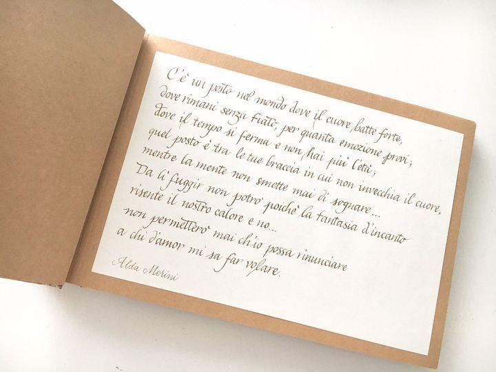 spesso Poesia per libro sposi di Annalisa Ambrosino | Foto 26 ML41