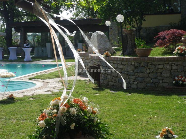 Agriturismo green park for Addobbi piscina
