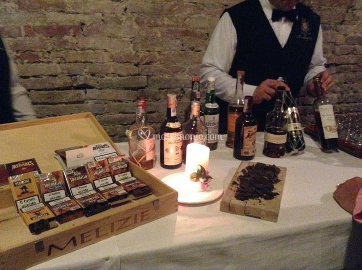 Rum , sigari e cioccolato
