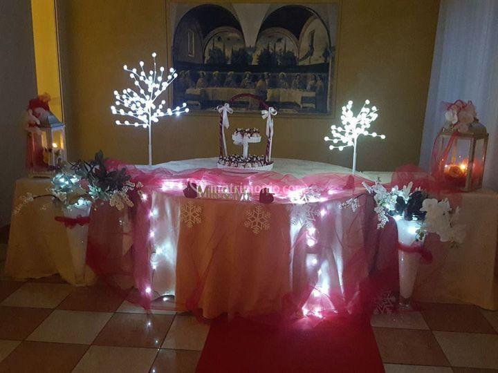 Tavolo for wedding cake