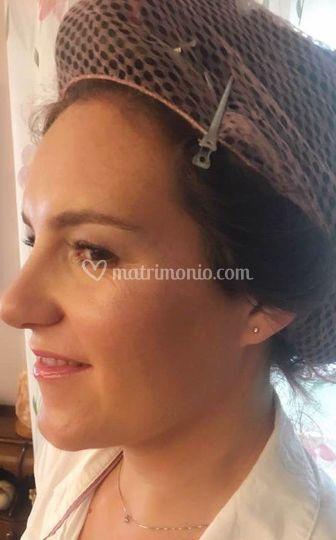 Make-up beauty sposa naturale
