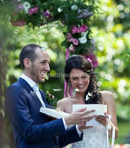 Farfalle bianche matrimonio