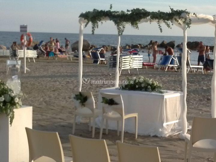 Matrimonio Spiaggia Anzio : Biancoperla