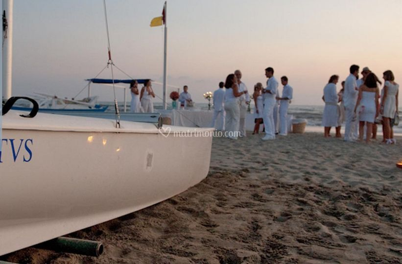 Evento sulla spiaggia