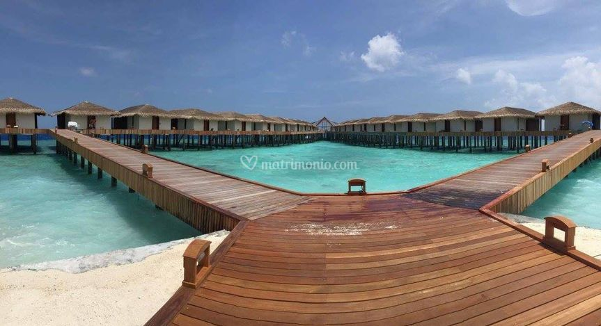 Maldive overwater