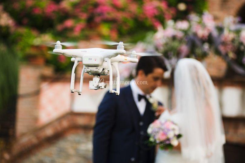 Drone e sposi