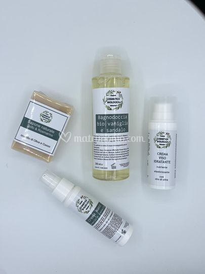 Cosmetici bio palmadori