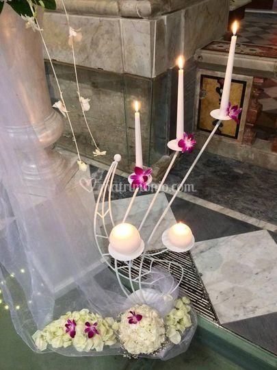 Decorazione candelabro c