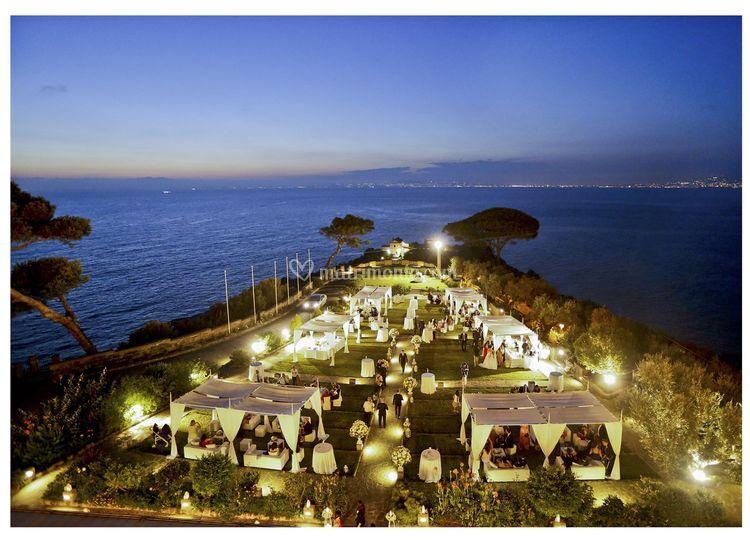 Wedding in penisola