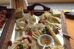 Particolare buffet rustico