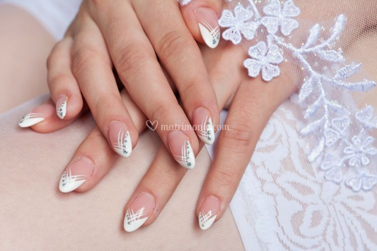 Gel french forma mandorla