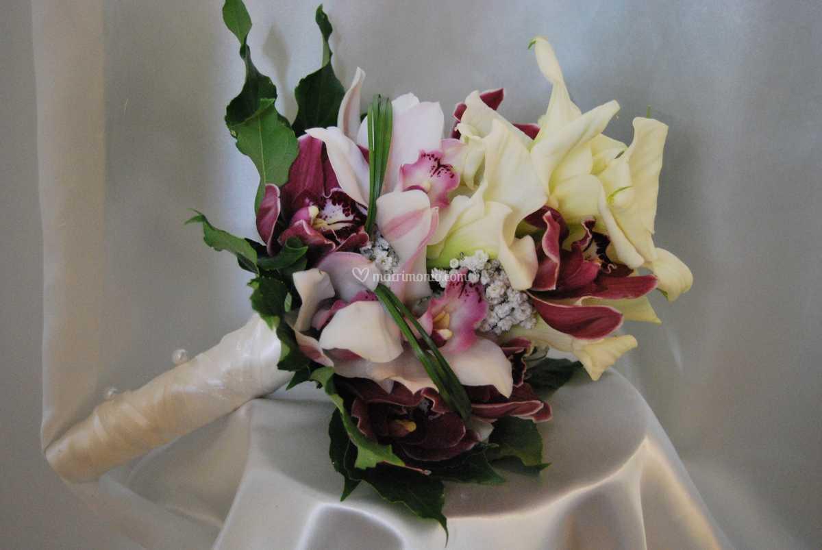 Bouquet Sposa Calle E Orchidee.Bouquet Calle E Orchidee Di Casa Del Fiore Foto 31