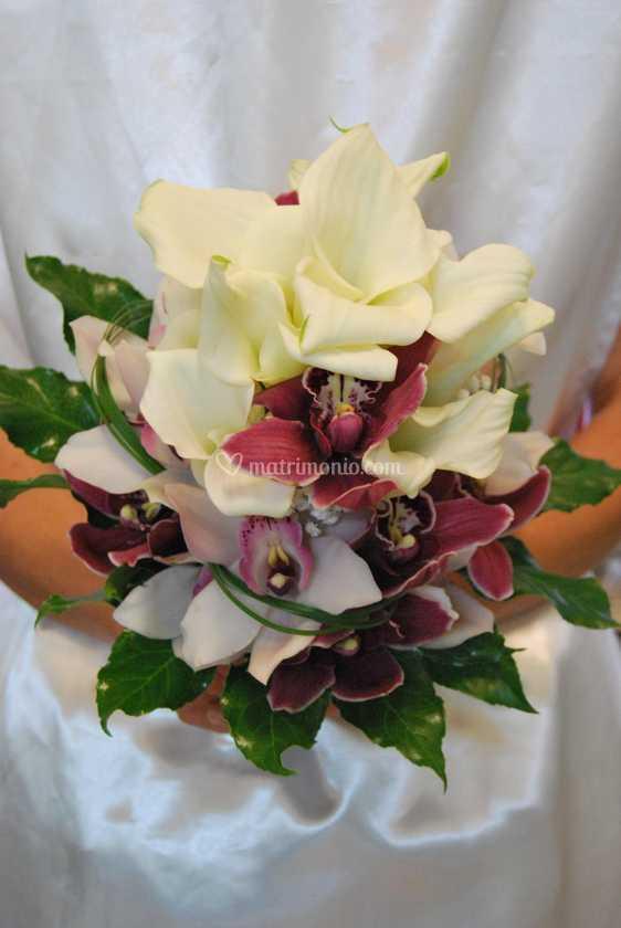 Bouquet Sposa Calle E Orchidee.Calle E Orchidee Di Casa Del Fiore Foto 32
