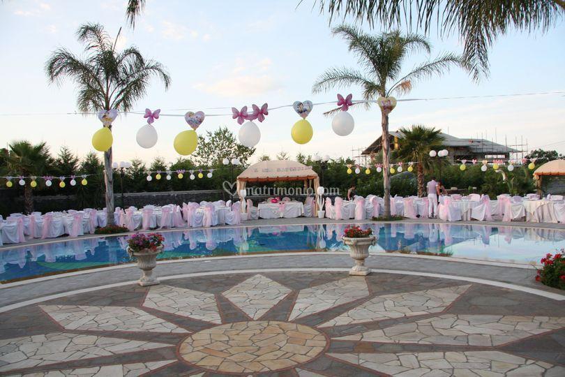 Villa Mirage di Giorno