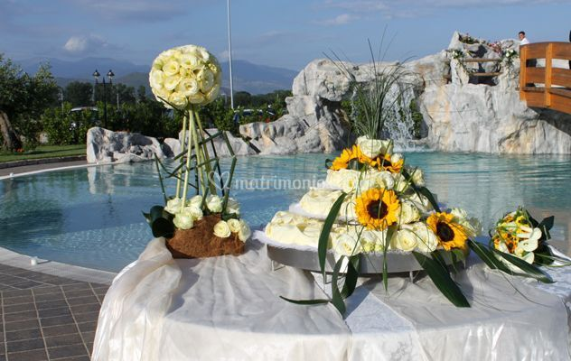 Catering cicuzza for Decorazioni piscina