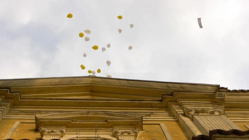 Palloncini nel cielo