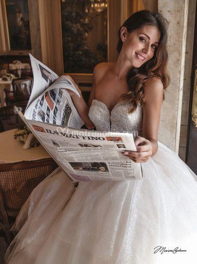 Abito da sposa largo di dive dame foto 1 - Abiti da sposa dive e dame ...