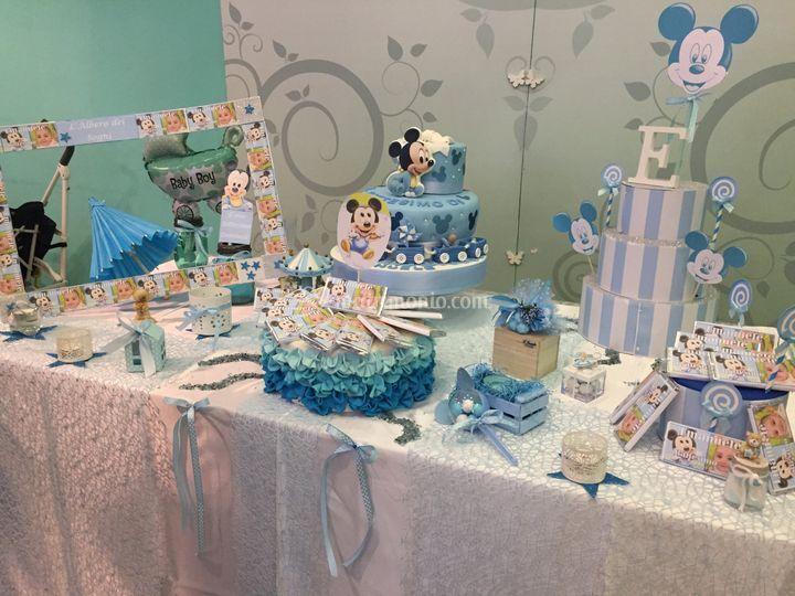 Battesimo Topolino Baby Di L Albero Dei Sogni Wedding Party Foto 70