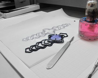 Lavorazione dei  gioielli