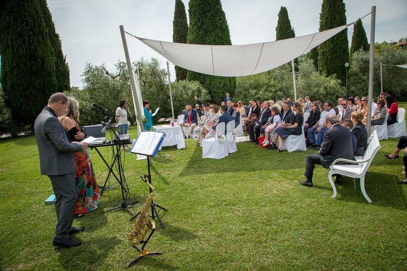 Villa Avanzi cerimonia all' ap