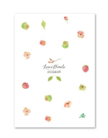 Partecipazione Flower