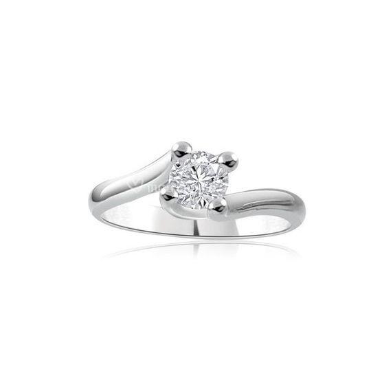 Solitario Valentino diamante