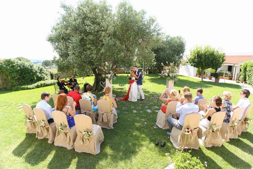 Cerimonia simbolica in Puglia