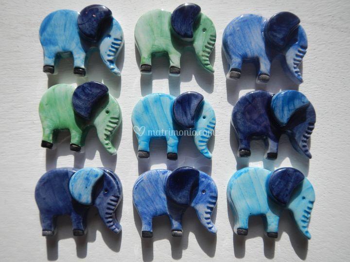 Elefanti con magnete