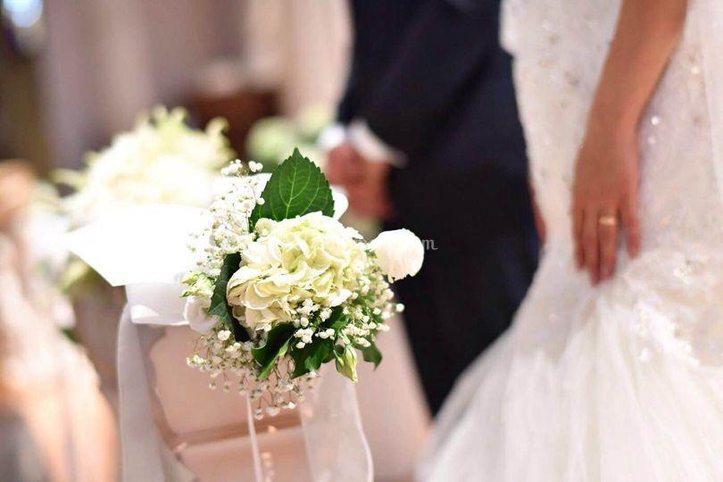 Panche per gli sposi