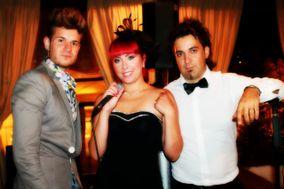 Gianluca, Alina e il loro staff