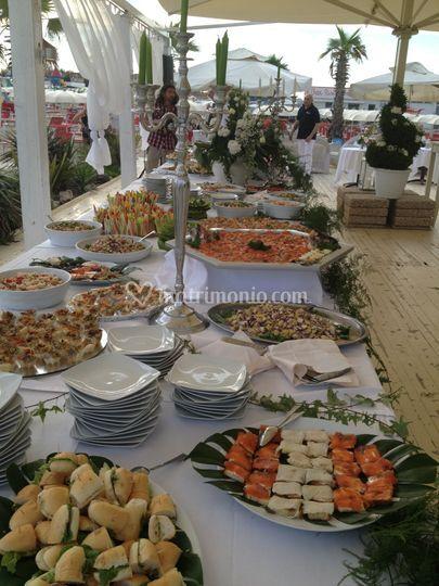 Buffet nozze aperitivo