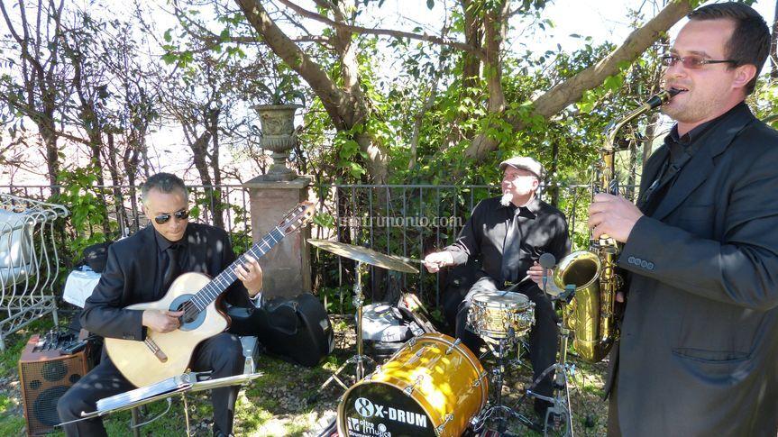 Trio jazz - Casa del Grecale