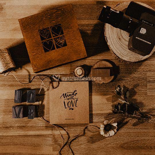 Wooden Box - Wedding kit